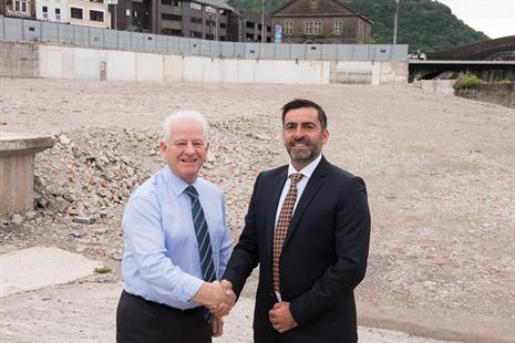Milestone Reached for RCT's Taff Vale Redevelopment Project