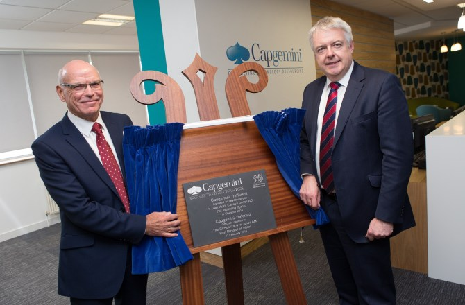 Capgemini Opens New Centre in Rhondda