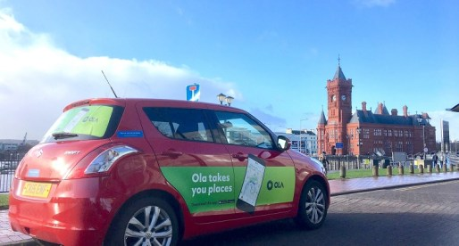 Rideshare Disrupter Ola Partners with Car Quids on UK Roll Out