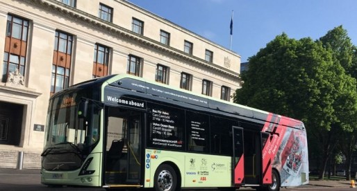 Cardiff Welcomes its First Electric Bus into the City