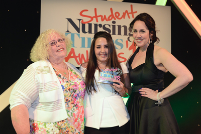 Swansea Nursing Student Wins Most Inspirational Student of the Year Award