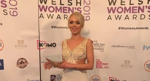 Charlotte Hale Wins Entrepreneur of the Year Award at Welsh Women's Awards