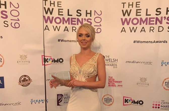 Charlotte Hale Wins Entrepreneur of the Year Award at Welsh Women's Awards