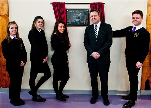Education Minister Officially Opens Cwmbran High School