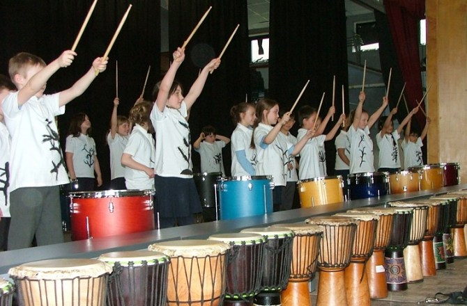 Schools Join Together to Deliver Creative Arts Project