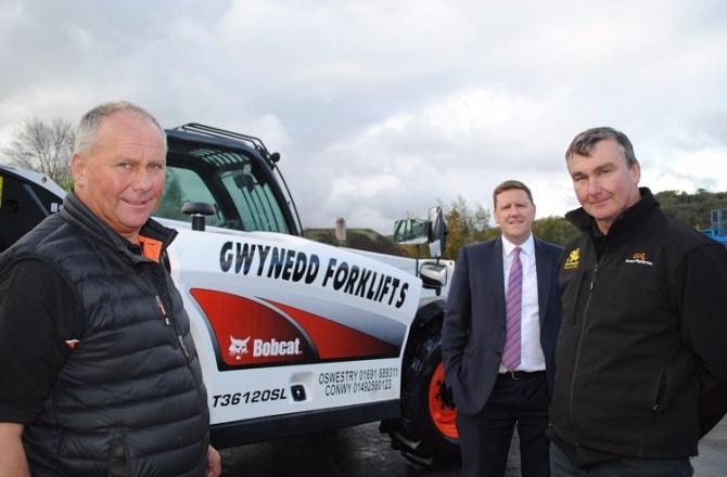 Gwynedd Forklifts Ltd Raise the Bar with New Premises