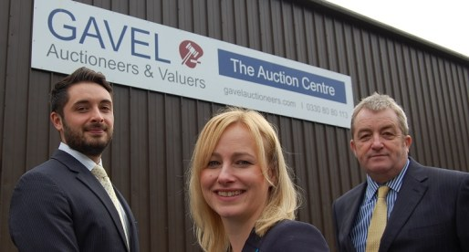 £325,000 Investment Allows Gavel Auctioneers Ltd to Expand into New Premises
