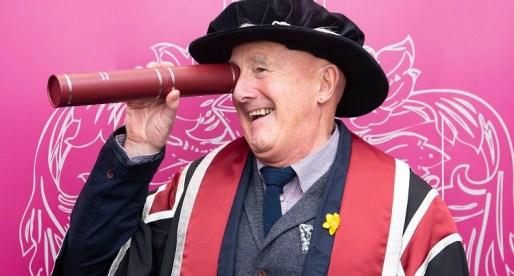 Swansea University Honours Dewi Pws Morris