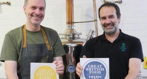 Welsh Micro Distillery Retains Best British Gin Award