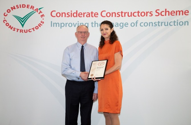 Building Firm Scoops National Award for Welsh Government Scheme