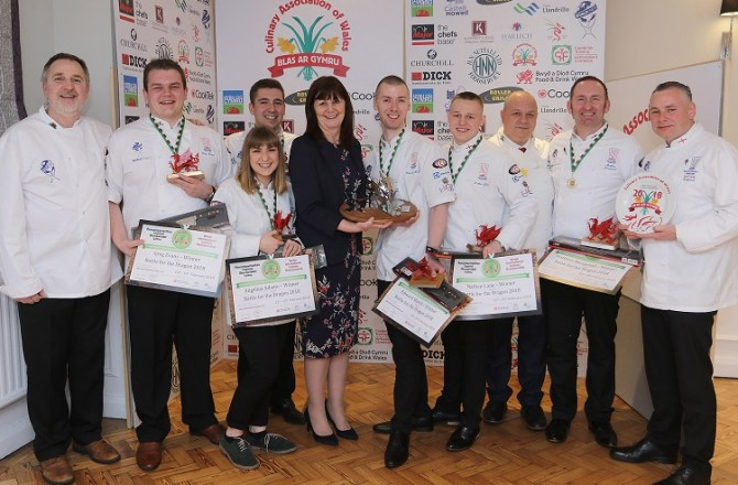 England Win Battle for The Dragon Cook-off in Wales