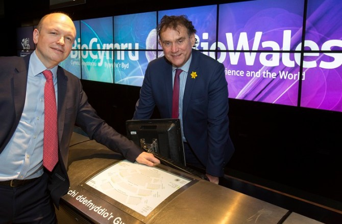 Swansea University and Pfizer Drive Forward Collaboration at BioWales 2018