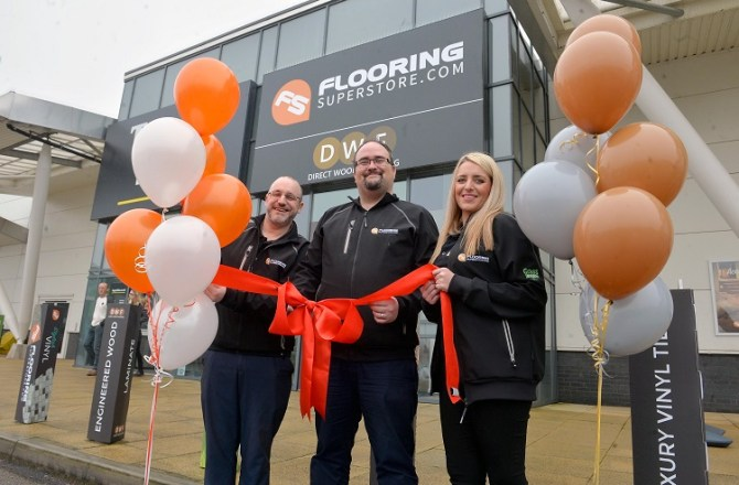 Flooring Superstore Opens First Welsh Store