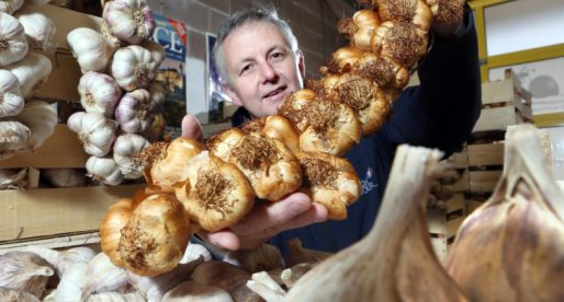 Wrexham Based Food Business Sells Imported Garlic Back to the French