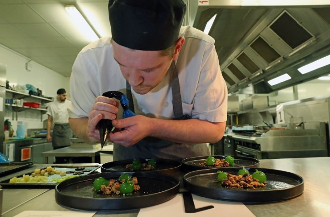 Just Two Points Separate Top Four in National Chef of Wales Semi-Finals