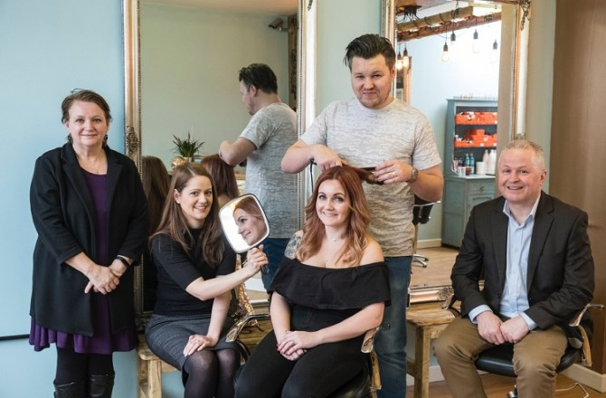 Entrepreneurial Couple Open New Salon in the Valleys