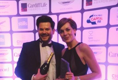 Award Winning Start Up Celebrates Cardiff Life Award