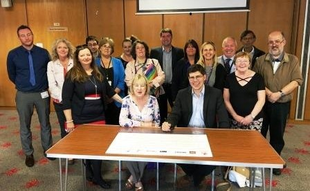 Cardiff Council is the Second Local Authority in Wales to Sign 'Dying to Work' Charter