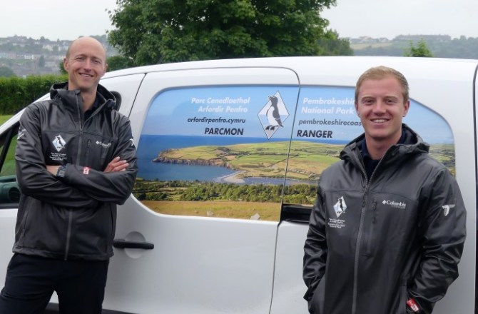 North and South Summer Rangers Promoting Pembrokeshire