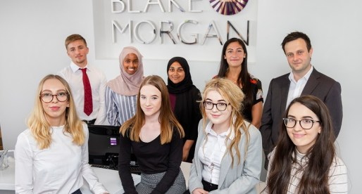 Students Grow Their Ambitions with Law Firm Blake Morgan