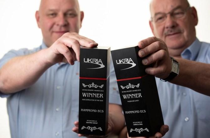 Aberdare Company Wins Two National Rail Awards