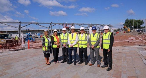 New Bus Canopy Installed at Port Talbot's Integrated Transport Hub
