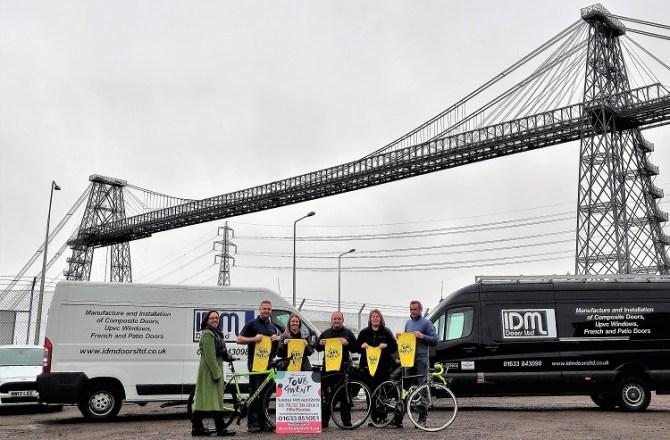 Newport Manufacturer Opens the Door to Tour de Gwent Success