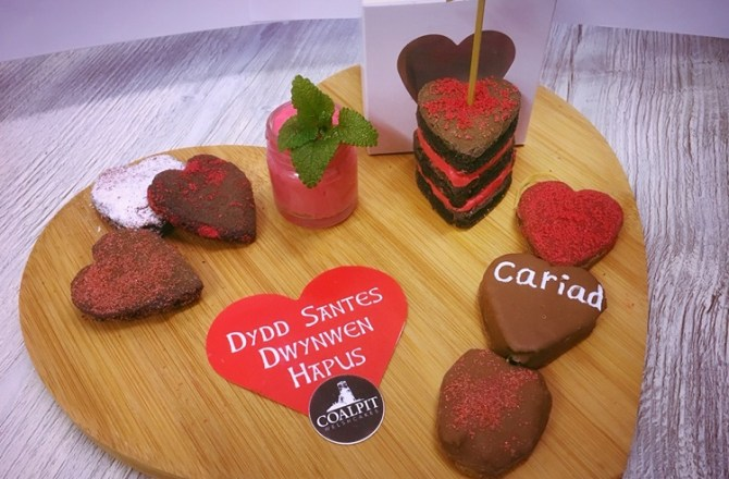 Cywain Producers Bring the Food of Love to Shoppers for St Dwynwen's Day