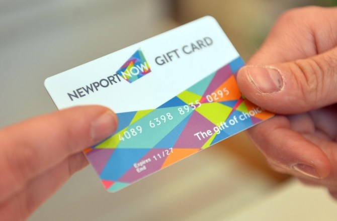 Newport NOW Launches City Centre Gift Card