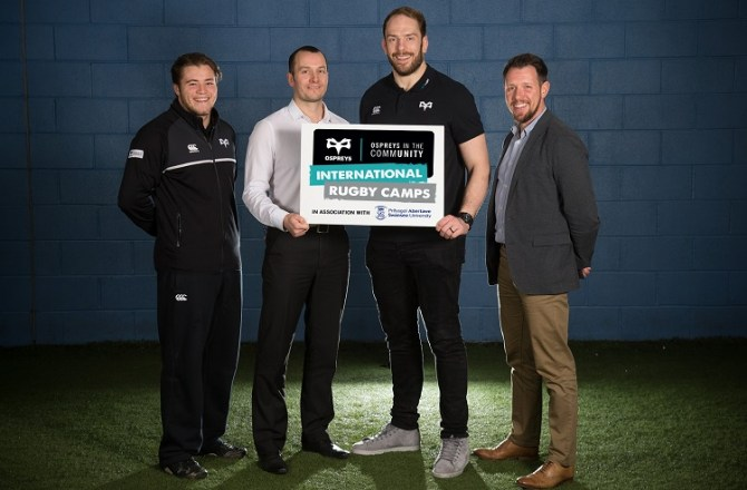 Innovative International Rugby Camps Come to Swansea