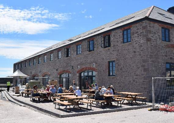 Porthcawl's Jennings Building in the Running for National Award