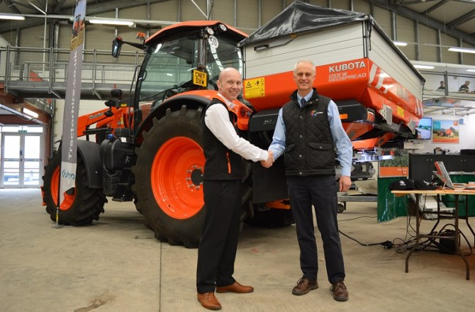 Coleg Cambria Partner with International Agricultural Firm