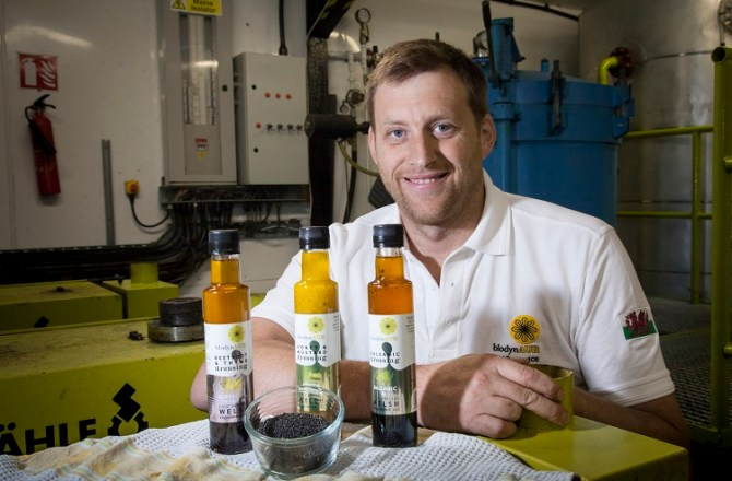 Welsh Food Firm Blodyn Aur Set to Grow with New Range