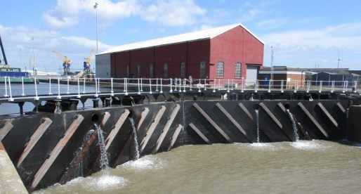 Lock Gates Project Boosts Future of Newport Docks