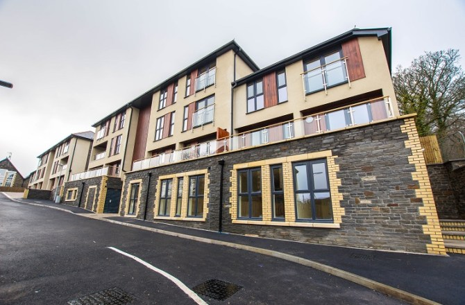 Completion of New Residential Development in Pontypridd