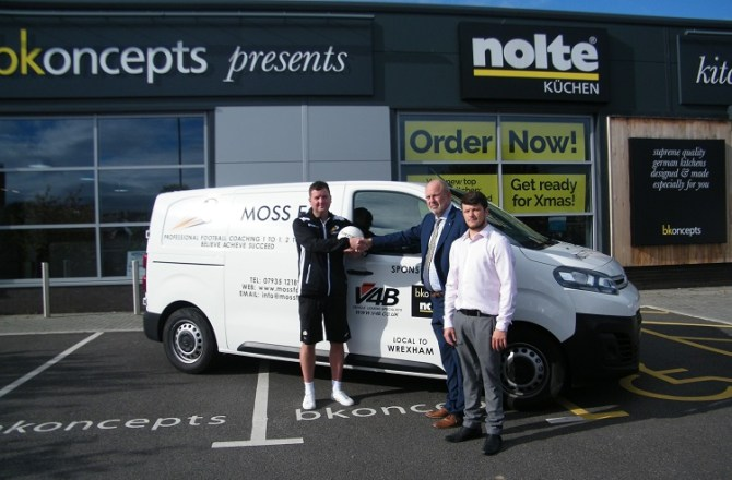 North Wales Firms Join Forces to Support New Local Football Venture