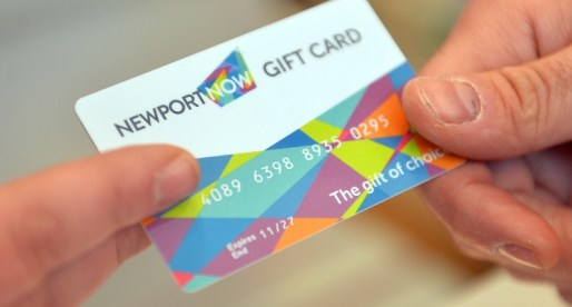 Newport Now Gift Card is the Perfect Christmas Present