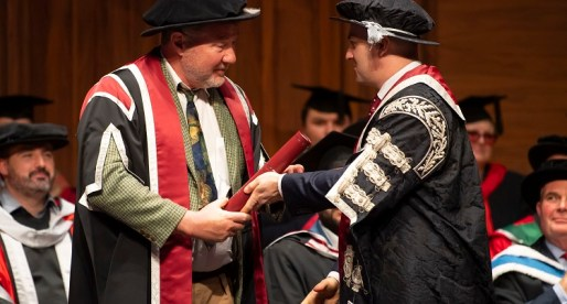 Swansea University Honours Nigel Short
