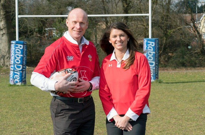 Swansea's Mrs Bucket Joins Forces with Former Wales Rugby Captain