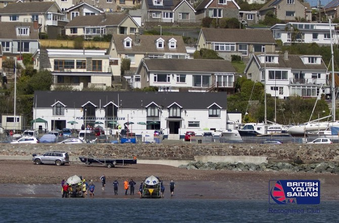 Pembrokeshire and Cardiff Yacht Clubs Support British Youth Sailing