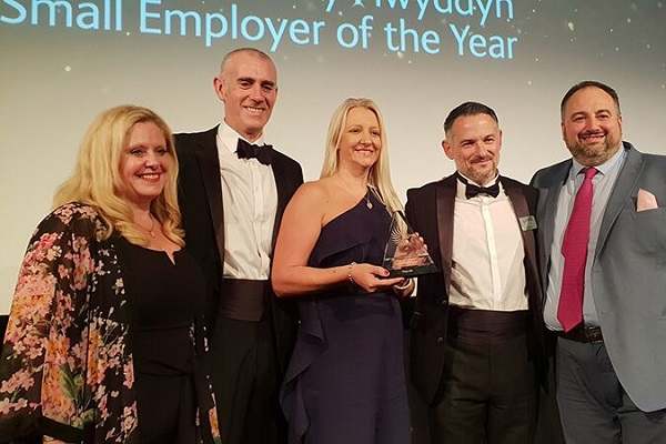 Growing IT Support Firm Named Wales' Small Employer of the Year