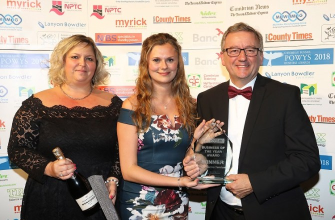 Hay-on-Wye Firm Named Powys Business of the Year