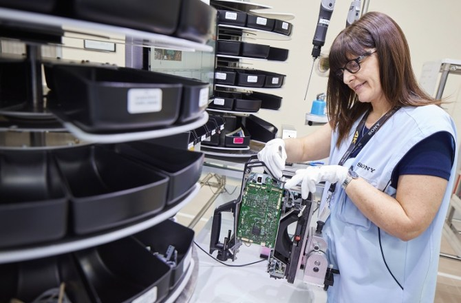 Sony UK TEC in Pencoed Supports 'Ground-Breaking' HD Camera Trade-in Scheme