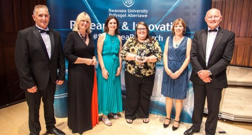 Awards Celebrate Research & Innovation at Swansea University