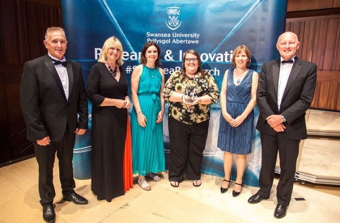Awards Celebrate Research & Innovation at Swansea University