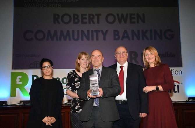 Powys Ethical Finance Provider Scoops Top UK Accolade from International Foundation for Environmental and Social Impacts