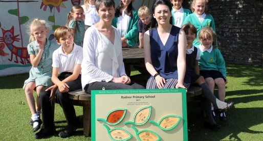 Radnor Primary Recognised With Wales-Wide Healthy Schools Award