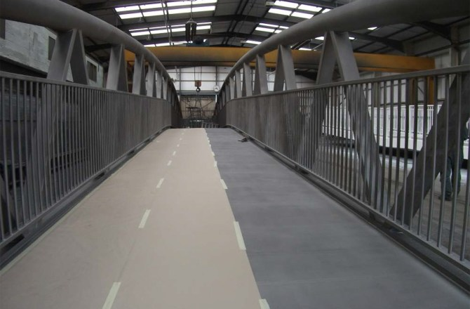 New Pedestrians and Cyclists Bridge to be Installed over River Ely