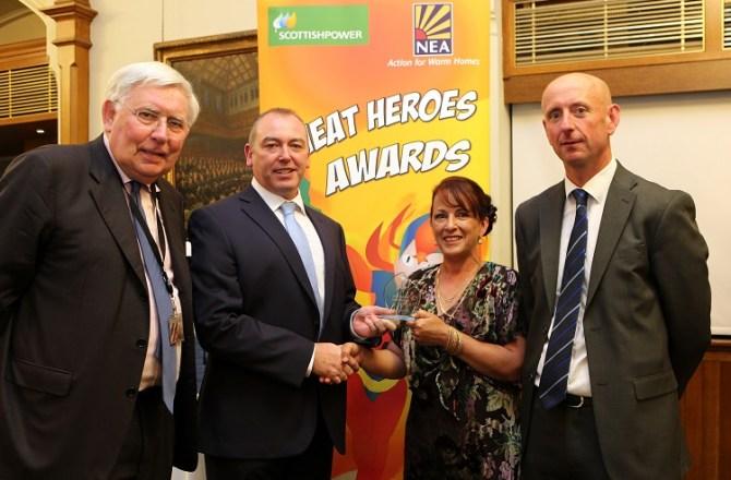 Caernarfon Energy Warden Named a UK Heat Hero