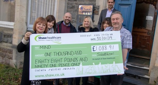 Welsh Office Workers Raise More than £1,000 for Mental Health Charity